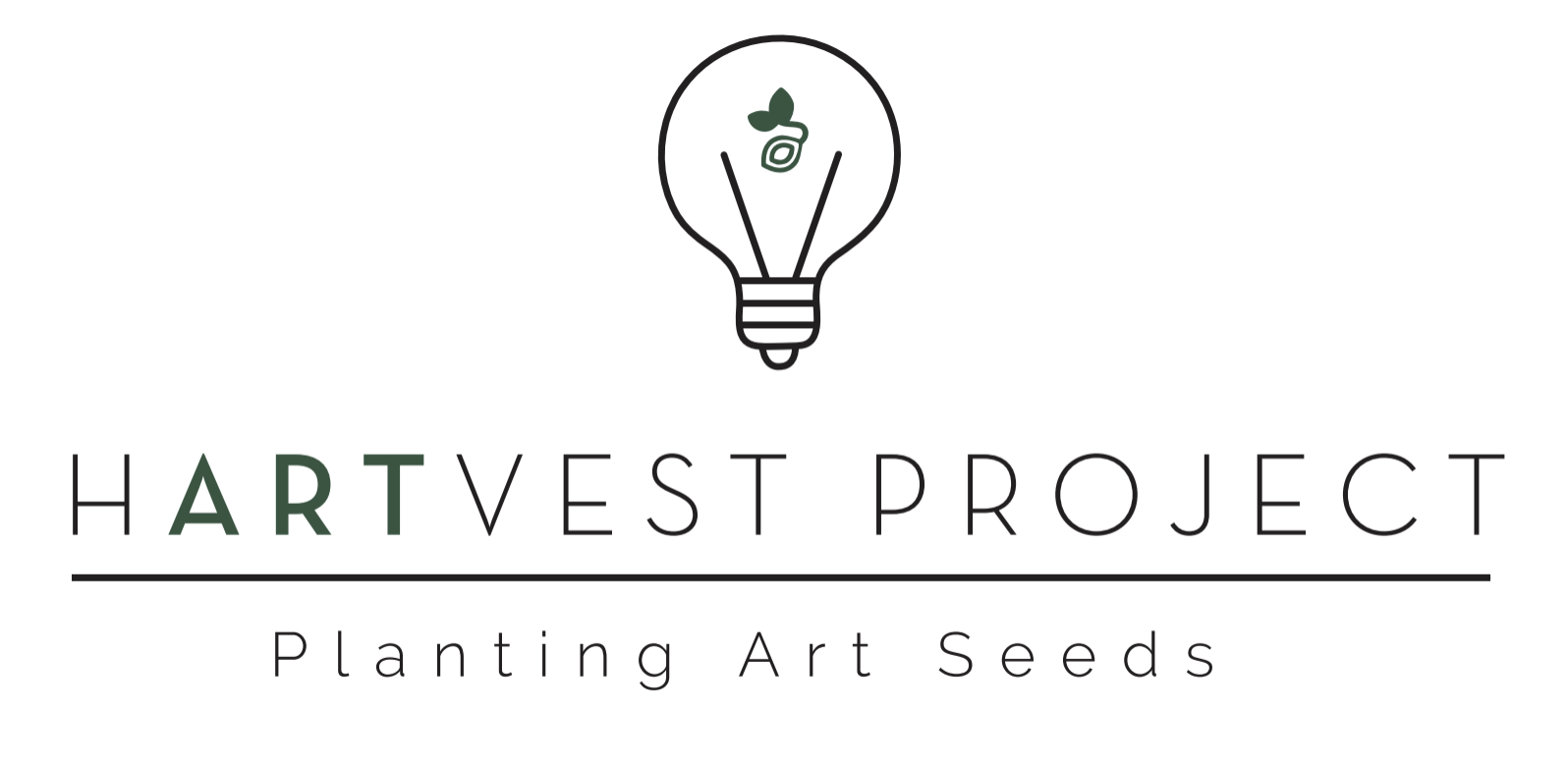 Harvest Project planting art seeds